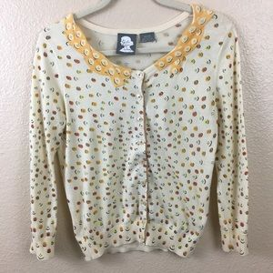 Anthropologie Girls from Savoy cardigan sweater